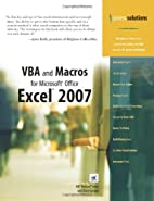 VBA and Macros for Microsoft Office Excel…