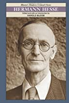 Hermann Hesse (Bloom's Modern Critical…