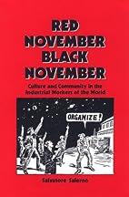Red November, Black November Culture and…