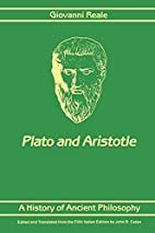 A History of Ancient Philosophy: Plato and…