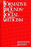 Baynes, Kenneth: The Normative Grounds of Social Criticism: Kant, Rawls, and Habermas