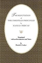 The refutation of the Christian principles…