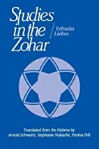 Studies in the Zohar by Yehuda Liebes