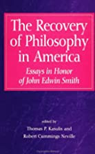 The Recovery of Philosophy in America:…
