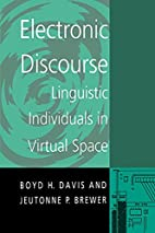 Electronic Discourse (Suny Series in…
