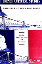 French Cultural Studies: Criticism at the…