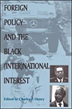 Foreign Policy and the Black (Inter)national…