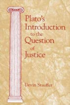 Plato's Introduction to the Question of…