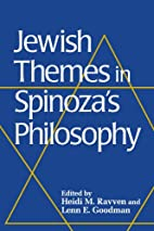 Jewish Themes in Spinoza's Philosophy by…