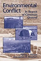 Environmental Conflict: In Search of Common…