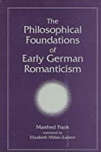 The Philosophical Foundations of Early…