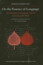 On the Essence of Language: The Metaphysics…