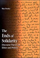 The Ends of Solidarity: Discourse Theory in…