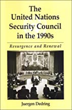 The United Nations Security Council in the…