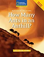 Math Behind the Science: How Many Ants in an…