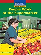 People work at the supermarket (National…