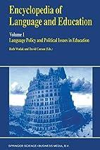 Encyclopedia of Language and Education:…