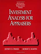 Investment Analysis for Appraisers…