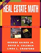 Real Estate Math: Explanations, Problems and…