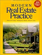 Study Guide For Modern Real Estate Practice…