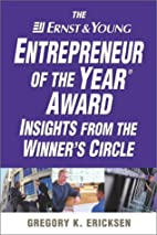 The Ernst & Young Entrepreneur of the Year…