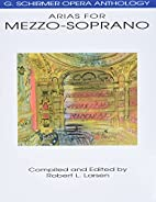 G. Schirmer Opera Anthology: Arias for…