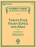 24 Italian Songs and Arias - Medium High…