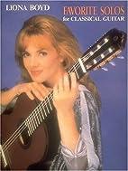 Favorite Solos for Classical Guitar: Guitar…