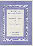 Basch, J. S.: 371 Harmonized Chorales & 69 Chorale Melodies With Figured Bass