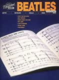 Beatles: Beatles: The Blue Book Transcribed Scores (Guitar, Keyboard, Vocal, Drum, Bass)