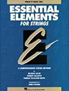 Essential Elements for Strings - Violin,…
