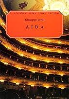 Aida [vocal score] by Giuseppe Verdi