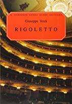 Rigoletto [vocal score] by Giuseppe Verdi