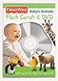 Monica, Carol: Fisher Price Baby's Animals Flashcards And DVD (Fisher Price Baby Book Collection)