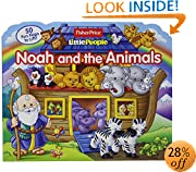 Fisher Price Little People Noah and the Animals (Lift-the-Flap)