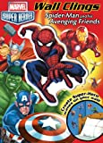 Marvel: Marvel Spider-Man and His Avenging Friends: Wall Clings