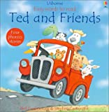 Roxbee-Cox, Phil: Ted and Friends (Usborne Easy Words to Read)