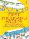 Heather Amery: Mini First Thousand Words German Internet Linked (German Edition)