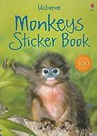 Usborne Monkeys Sticker Book (Usborne…