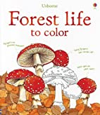 Forest Life to Color (Nature Coloring Books)…