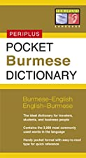 Pocket Burmese Dictionary: Burmese-English…