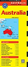Australia Travel Map Fifth Edition (Periplus…