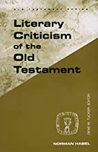 Literary Criticism of the Old Testament…