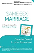 Same-Sex Marriage: A Thoughtful Approach to…