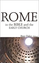 Rome in the Bible and the Early Church by…