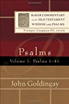 Psalms, Vol. 1: Psalms 1-41 (Baker…
