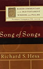 Song of Songs (Baker Commentary on the Old…