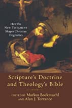 Scripture's Doctrine and…