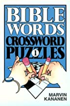 Bible Words Crossword Puzzles 1 by Marvin…