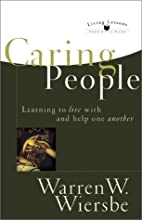 Caring People: Learning to Live with and…